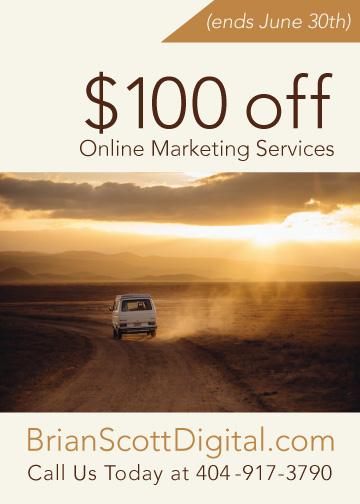 $100 off BSD Online Marketing Services